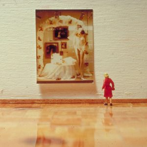 1995, Museum voor mini installaties, webexpositie met Desk.nl