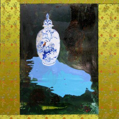 Not a Delfts Blue vase, 2008, 235 x 165 cm