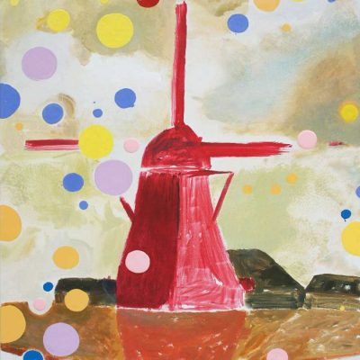 Red Mill, 2012, 80 x 55