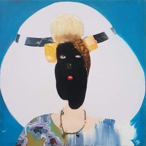 Stranger, 2011-2019, 80 x 80cm