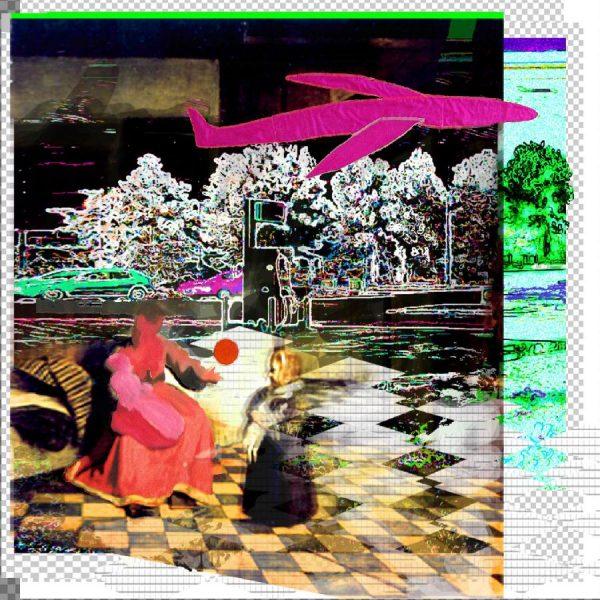 Hochzeit, c=print op doek, 235 x 235 cm