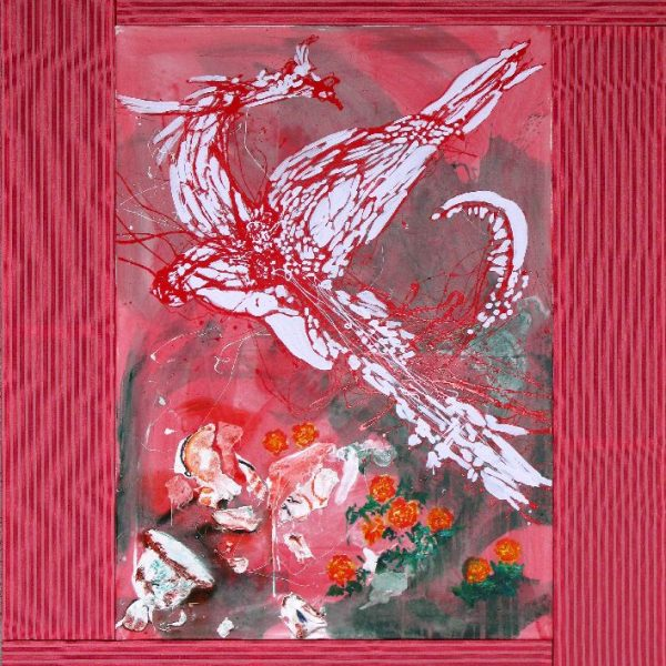 Chinese dragon, 2008, 235 x 165 cm