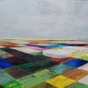Frumpishness, 2012, 190 x 160 cm, oil, acrylic, fabric on canvas