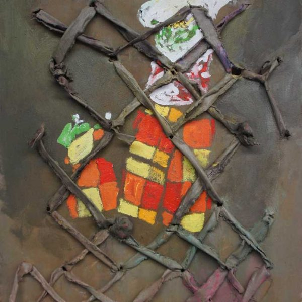 Mother and Son, 1994/2013, 50 x 65 cm, oil on / in canvas