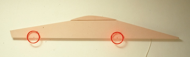 Racing car, Neon corsette elastiek, 1995