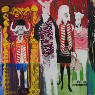 Kostuumdrama, 2011, 245 x 135 cm