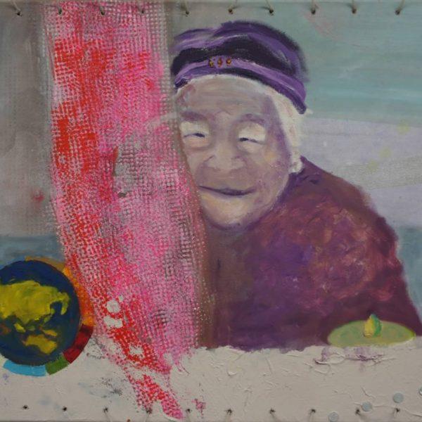 Azian Lady, 60 x 50 cm, 2010