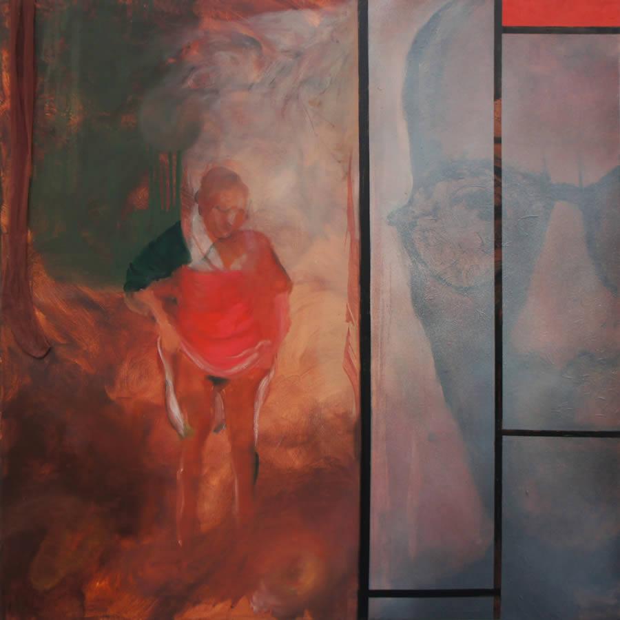 Saskia, 2015, 150 x 150 cm