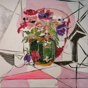 Breitner, 2016, 100 x 100 cm