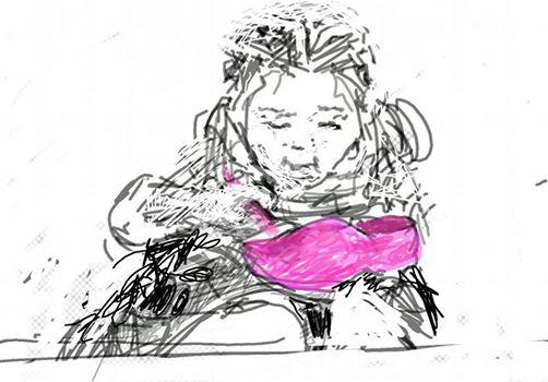chinees-meisje-klomp
