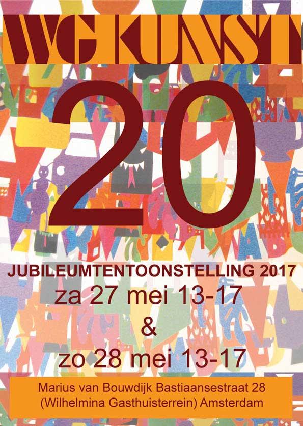 affiche-JUBILEUMTENTOONSTELLING-WG-Kunst-20
