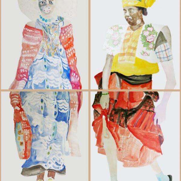 Costumes – 2017 aquarel