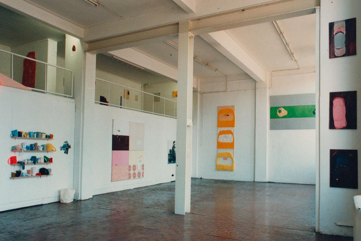 Kunstruimte Haagweg 4, Leiden, 1996