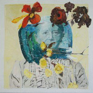 Sientje, 2016, 100 x 100 cm