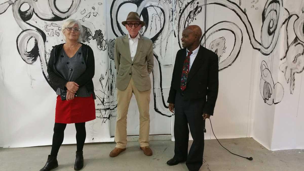 met Willem Gorter en Isidoor Wens
