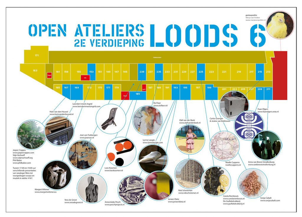 flyer Open Ateliers Loods 6
