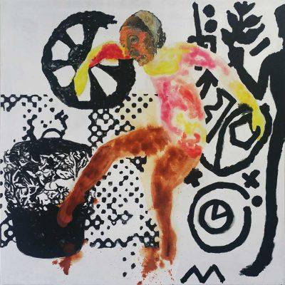 Een vrouw in de kunst