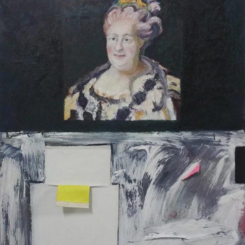 Catharina, 2019, 80 x 90 cm