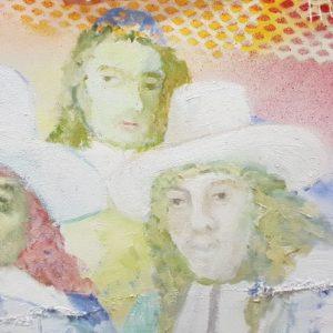 Staalmeesters, 2018, 156 x 136 cm
