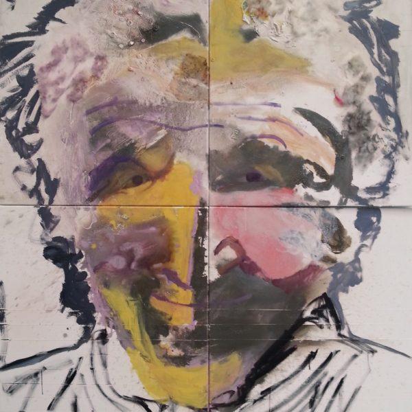 Old Lady, 170 x 200 cm