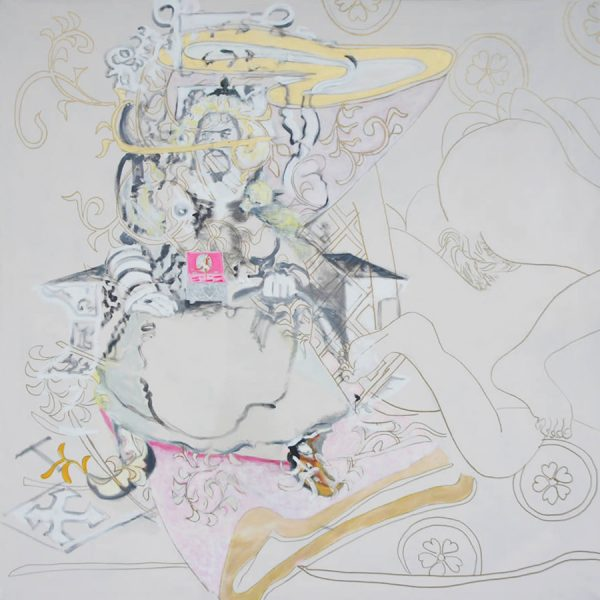 Encounters, Djengis Khan, 150 x 150 cm