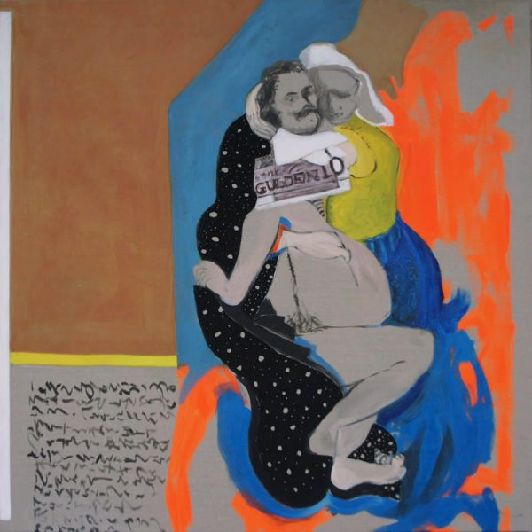 Encounters, Love Affair, 2015, 150 x 150 cm