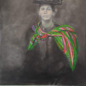 Unknown Aunt, 2019, 90 x 140 cm