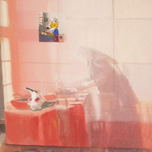 Milkmaid, Neighbour, 281998/2019, 33 x 28 cm
