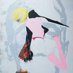 Frankanstein dance, 155 x 135 cm, 2009