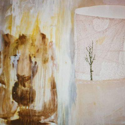 Tegenkracht, 1997, 136 x 156 cm