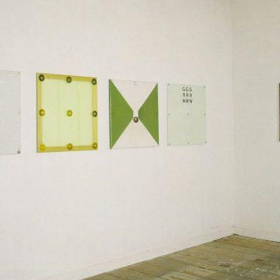 Systeem schilderijen, 1989-1991, 65 x 65 cm