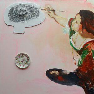 Artemisia & Eva, 2016, 100 x 100 cm