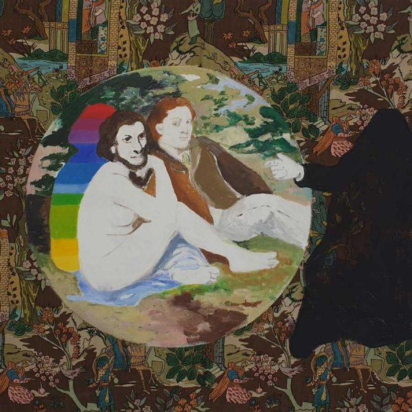 The juror, 2020, 125 x 135 cm