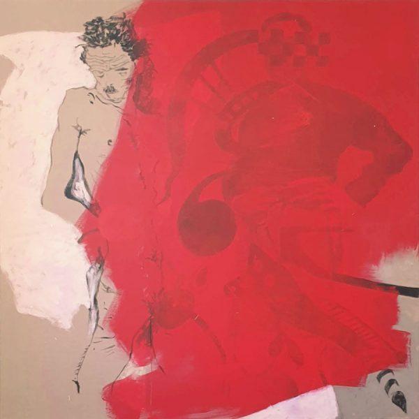 Encounters, Egon, 2015/2021,150 x 150 cm