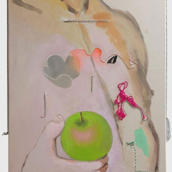 Adams apple, 100 x 75 cm