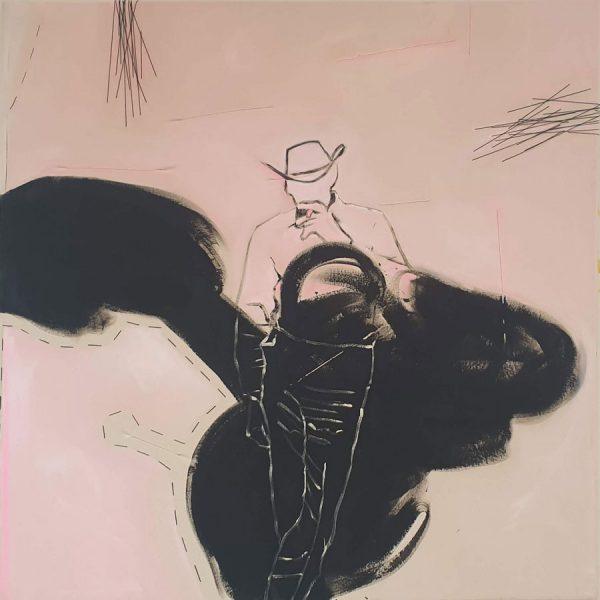 Marlboroman 150 x 150 cm