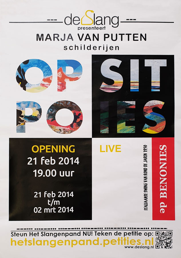 affiche Opposities 2014